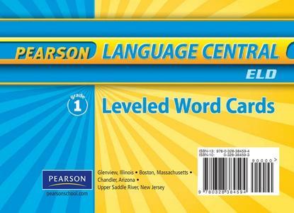 Leveled Word Cards (English Language Development) (Grade 1) (repost)