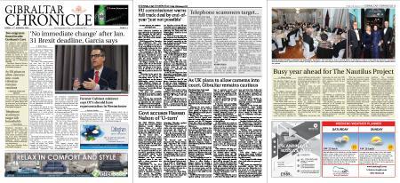Gibraltar Chronicle – 17 January 2020