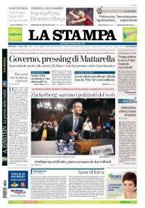 La Stampa Torino Provincia e Canavese - 11 Aprile 2018