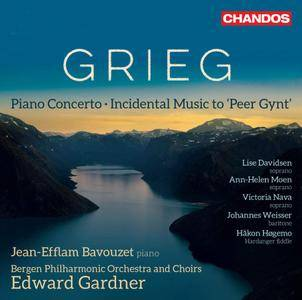 Bergen Philharmonic Orchestra, Edward Gardner - Grieg: Peer Gynt, Op. 23 & Piano Concerto in A Minor, Op. 16 (2018)