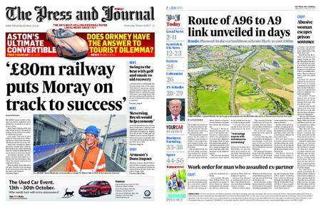 The Press and Journal Moray – October 18, 2017