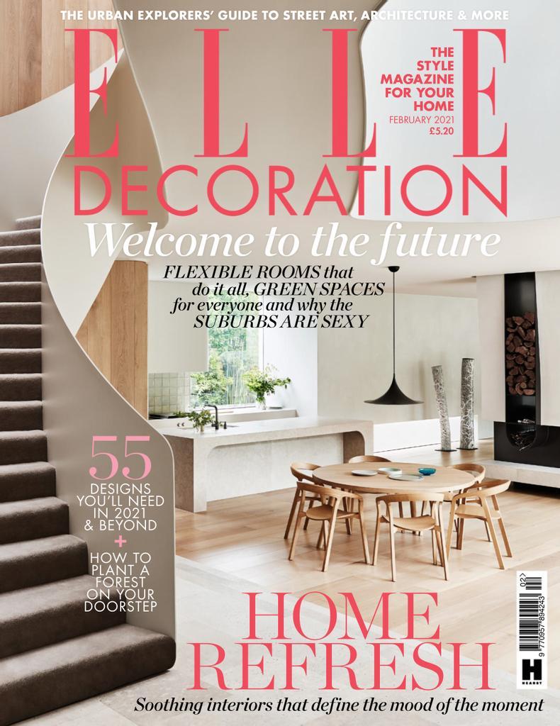 Elle Decoration UK - February 2021