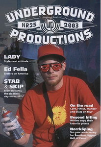 Underground Productions Graffiti Magazine Issue 25
