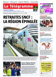 Le Télégramme Dinan - Dinard - Saint-Malo – 17 juin 2019