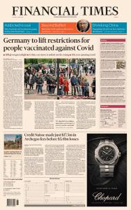 Financial Times Europe - 4 May 2021