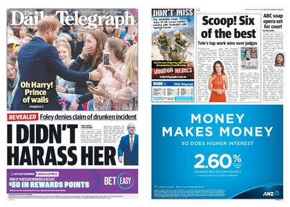 The Daily Telegraph (Sydney) – October 19, 2018