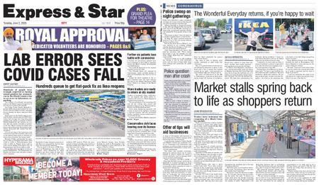 Express and Star City Edition – June 02, 2020
