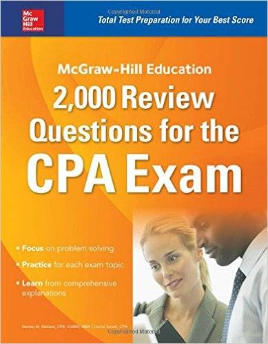 McGraw-Hill Education 2,000 Review Questions for the CPA Exam [Repost]