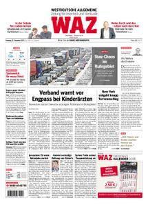 WAZ Westdeutsche Allgemeine Zeitung Oberhausen-Sterkrade - 12. Dezember 2017