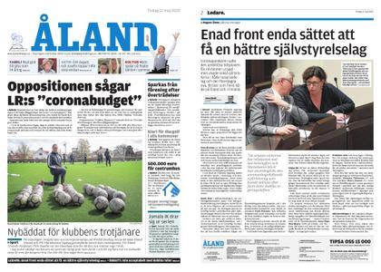 Ålandstidningen – 12 maj 2020