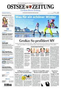 Ostsee Zeitung Wolgast - 08. Februar 2018