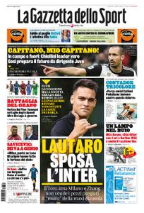 La Gazzetta dello Sport Roma – 30 marzo 2020