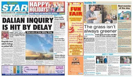 Shropshire Star Shrewsbury Edition – September 27, 2017