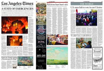 Los Angeles Times – November 10, 2018