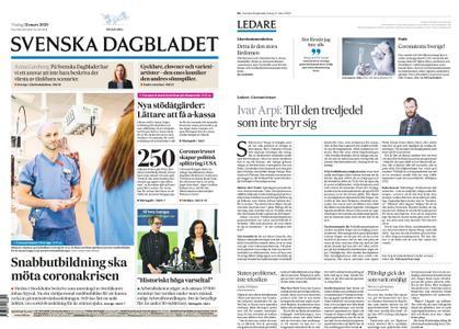 Svenska Dagbladet – 31 mars 2020