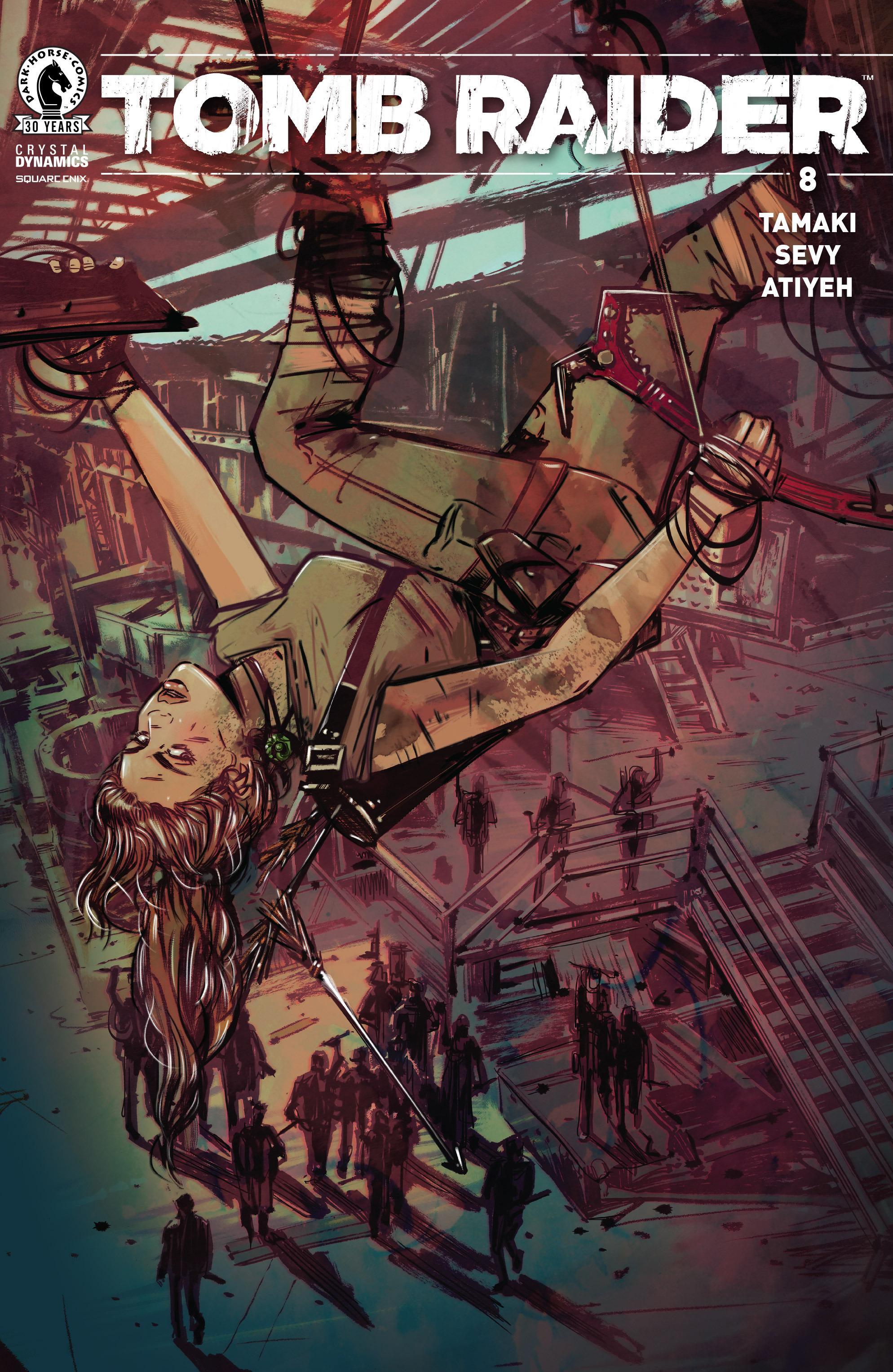 Tomb Raider 008 2016 digital The Magicians