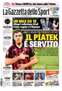 La Gazzetta dello Sport Roma – 18 gennaio 2019
