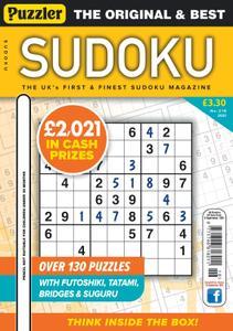 Puzzler Sudoku – August 2021