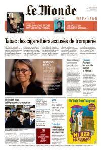 Le Monde du Samedi 10 Février 2018