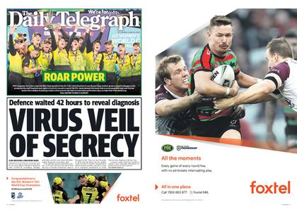 The Daily Telegraph (Sydney) – March 09, 2020