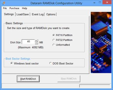 Dataram RAMDisk 4.4.0.36 Commercial