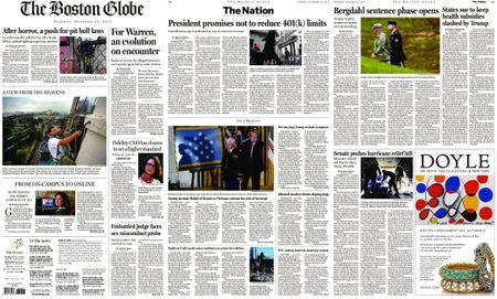 The Boston Globe – October 24, 2017