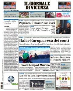 Il Giornale Di Vicenza - 16 Gennaio 2016