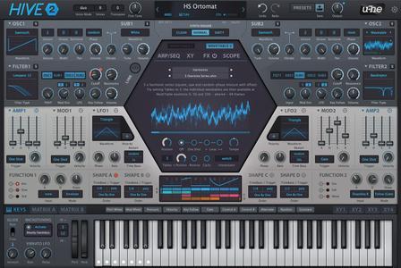 Heckmann Audio - u-he Hive v2.0.0.9033 WiN