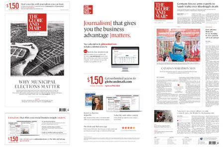 The Globe and Mail – October 22, 2018