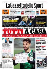 La Gazzetta dello Sport Roma – 10 marzo 2020