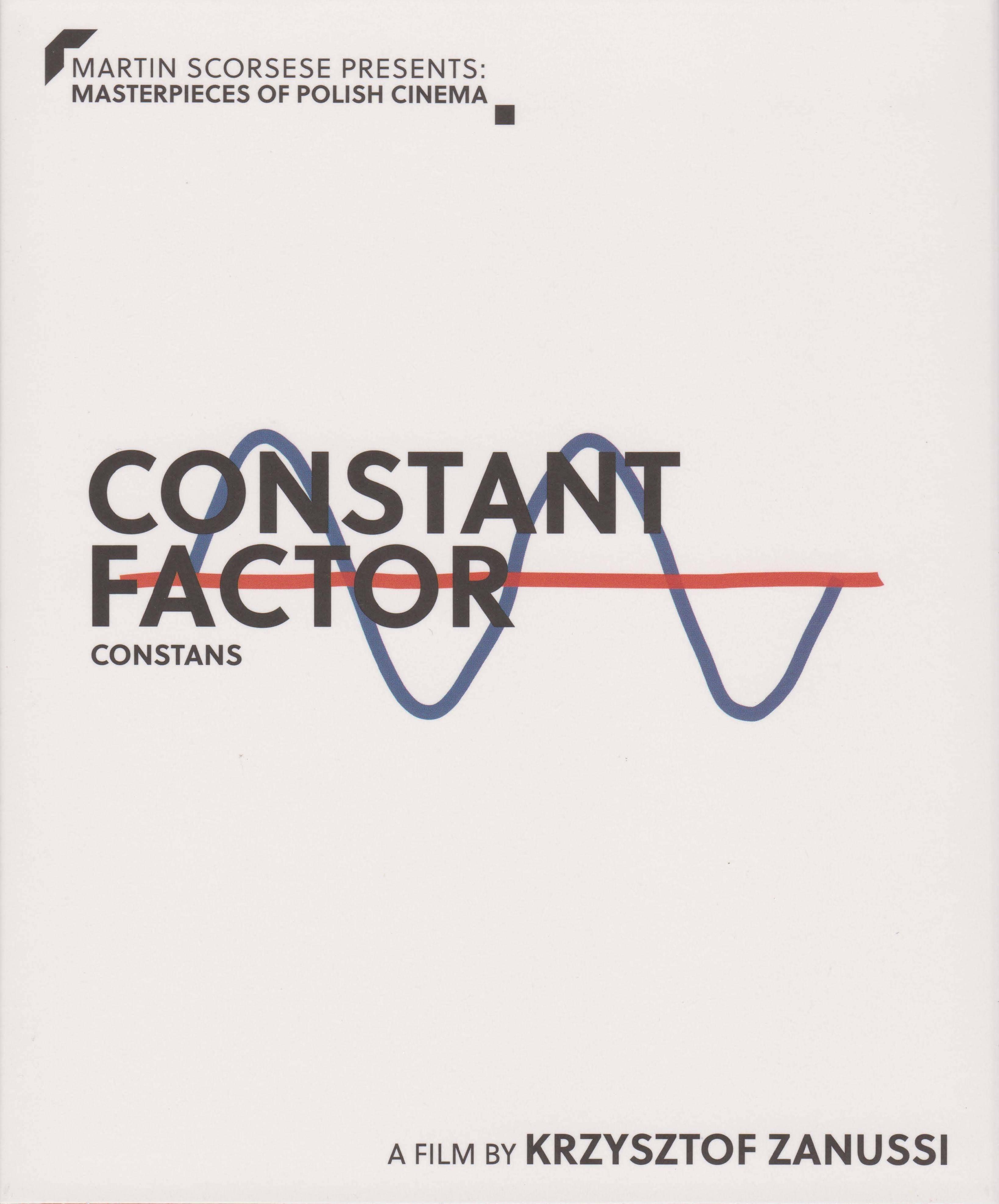 Martin Scorsese Presents: Masterpieces of Polish Cinema Volume 1. BR 3: The Constant Factor / Constans (1980)