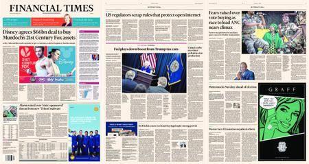 Financial Times Europe – 15 December 2017
