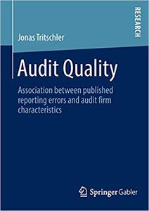 Audit Quality: Association between published reporting errors and audit firm characteristics
