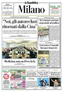 la Repubblica Milano - 15 Febbraio 2020