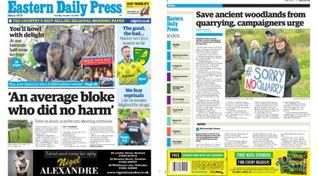 Eastern Daily Press – October 15, 2019
