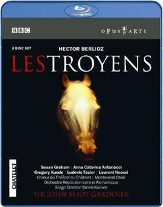 John Eliot Gardiner, Orchestre Revolutionnaire et Romantique - Berlioz: Les Troyens (2010/2003) [Blu-Ray]