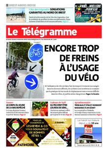 Le Télégramme Brest Abers Iroise – 14 décembre 2019