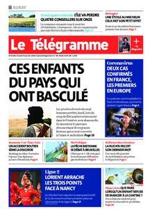 Le Télégramme Auray – 25 janvier 2020