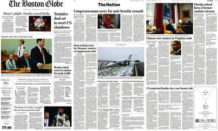 The Boston Globe – February 12, 2019