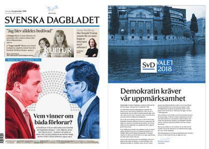 Svenska Dagbladet – 09 september 2018