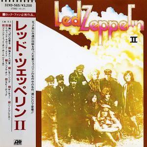 Led Zeppelin - Led Zeppelin II (1969) [32XD-565, Japan 1st Press, 1987]