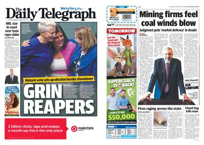 The Daily Telegraph (Sydney) – February 13, 2019