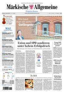 Märkische Allgemeine Prignitz Kurier - 08. Januar 2018