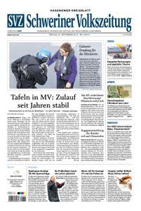 Schweriner Volkszeitung Hagenower Kreisblatt - 27. September 2019