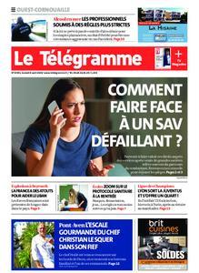 Le Télégramme Ouest Cornouaille – 08 août 2020