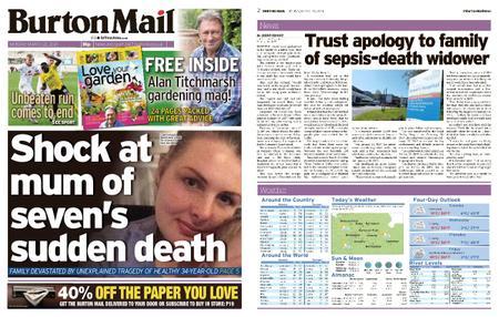 Burton Mail – March 22, 2021