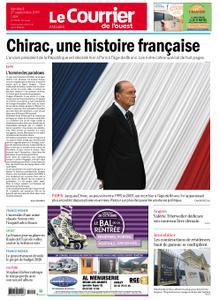 Le Courrier de l'Ouest Angers – 27 septembre 2019