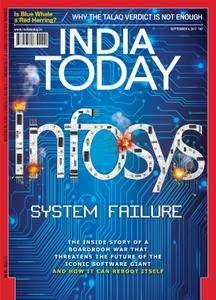 India Today - September 04, 2017