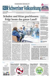 Schweriner Volkszeitung Hagenower Kreisblatt - 14. März 2020