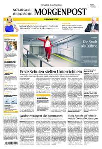 Solinger Morgenpost – 28. April 2020